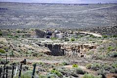 Cowboy Dike (gilsonite dike in the Uinta Formation, Middle Eocene; north of Bonanza, Utah, USA) 7