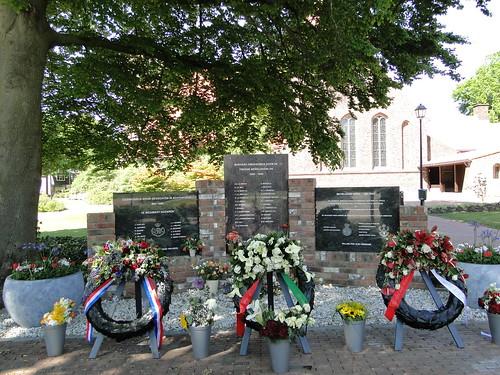 Monument World War 2 in Achterveld