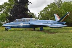 Fouga CM170 Magister '464'