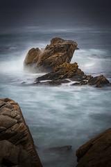 Spanish Bay Rocks in the Mist