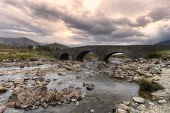 Sligachan Old Bridge, Highlands - Scotland (re Edited)
