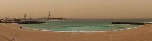 Playa majorera del Puerto del Rosario
