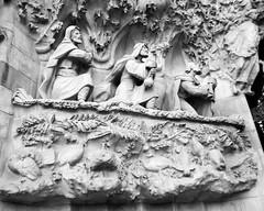 Three Wise Men on Sagrada Familia - Barcelona, Spain