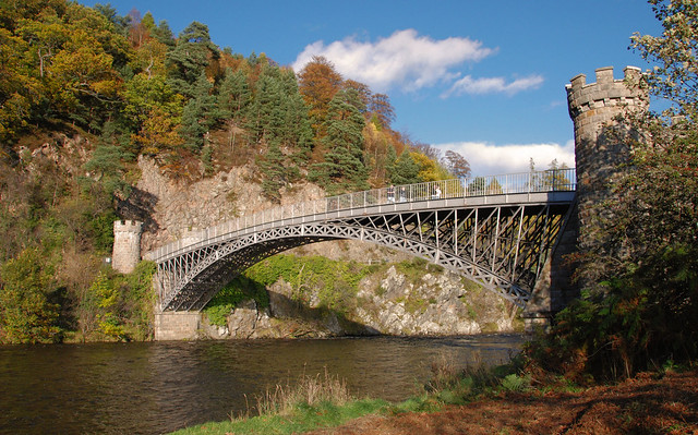 Craigellachie Bridge (explored)
