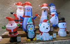 Inflatable seasonal characacters