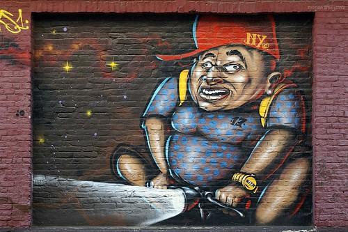 'Time' -  Streetart Ghent, Belgium