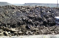 Mining gilsonite (Cowboy Dike; north of Bonanza, Utah, USA) 3