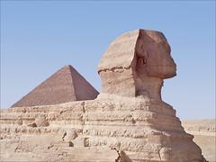Le Sphinx de Giza (Le Caire, Égypte)