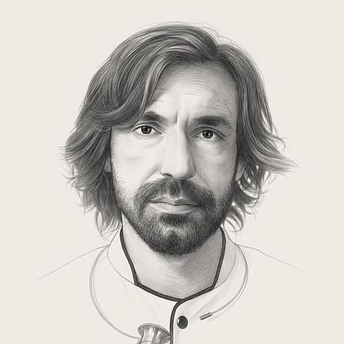 Realistic Pencil Drawing Man