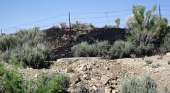 Gilsonite piled up next to Cowboy Dike (north of Bonanza, Utah, USA) 10