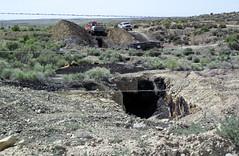 Cowboy Dike (gilsonite dike in the Uinta Formation, Middle Eocene; north of Bonanza, Utah, USA) 11