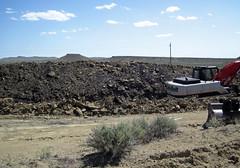 Mining gilsonite (Cowboy Dike; north of Bonanza, Utah, USA) 2