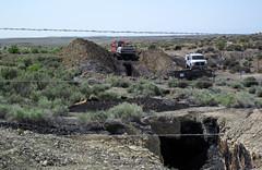 Cowboy Dike (gilsonite dike in the Uinta Formation, Middle Eocene; north of Bonanza, Utah, USA) 14