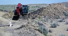 Mining gilsonite (Cowboy Dike; north of Bonanza, Utah, USA) 5
