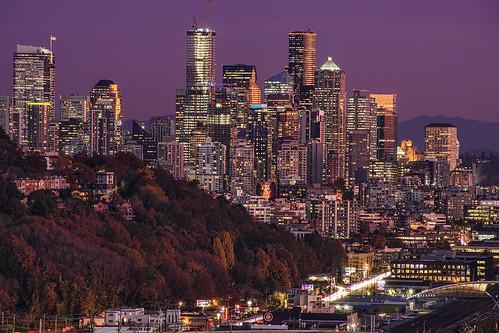 The Emerald City in Autumn
