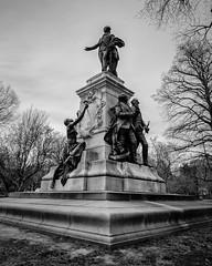 Marquis Gilbert de Lafayette Statue