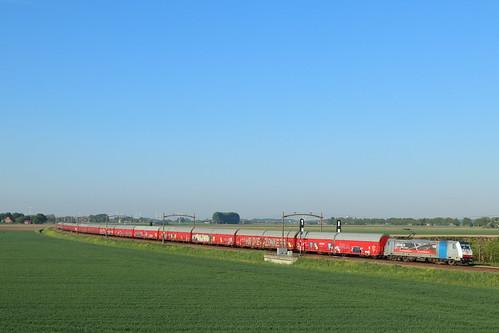 DBC 186 503 met trein 48575