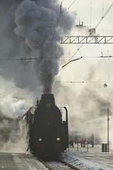 Smoke, steam and sun...