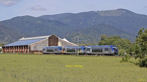 UM 3 X73521-X73917-X73516 TER 832769 Kruth-Mulhouse Ville à Cernay