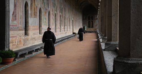 There are still some true working monasteries left, such as Santa Chiara in Napoli