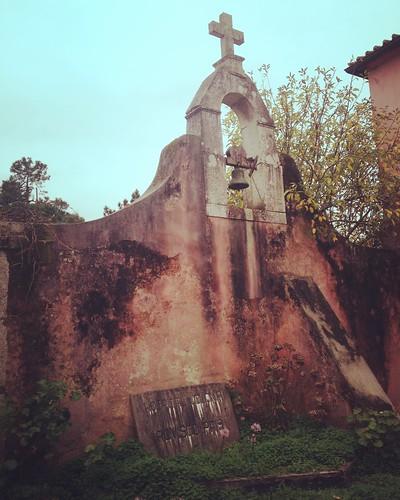 Campanário do antigo Convento Cruzio existente na Quinta da Fonte