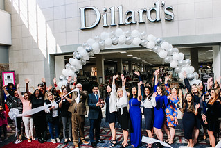 Ribbon Cutting- Dillard's Women