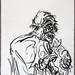 2007.01-2007.12[3] Shanghai Sanlintang Studio Pastel on paper 上海三林塘工作室 纸上炭精条(119.4x88.9cm)-131