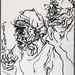 2007.01-2007.12[3] Shanghai Sanlintang Studio Pastel on paper 上海三林塘工作室 纸上炭精条(119.4x88.9cm)-136