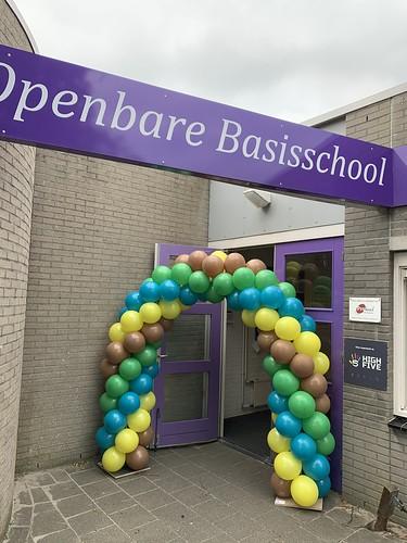 Ballonboog 5m Annie MG Schmidt School Spijkenisse