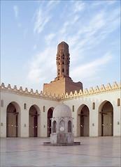 La mosquée El-Hakim (Le Caire, égypte)