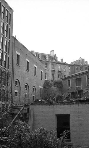 Housing off Moray Place (behind Carnegie Centre) c1971
