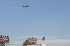Welcome to Beaumont! C-17 flyover San Gorgonio Hospital. Banning CA