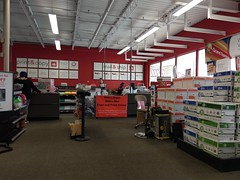 Office Depot Ppolar Ave, overview of the print & copy & mail & ship center