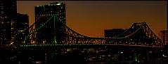 Story Bridge Brisbane at dusk-2=