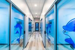Hallway at Dallas dentist Fresca Dental