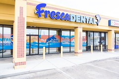 Exterior view Dallas dentist Fresca Dental