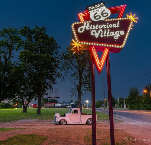 Tulsa Rt. 66 Village New Neon
