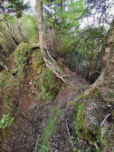 accross the ridge