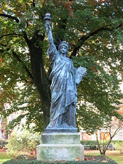 Statue of Liberty in Gardens