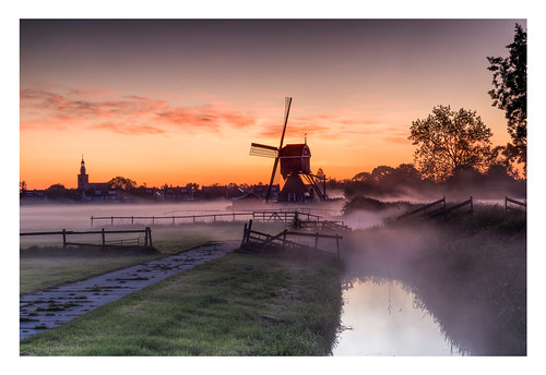 Sunrise in Streefkerk