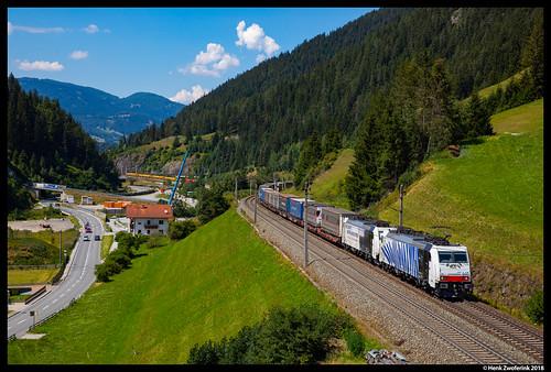 Lokomotion 186 440, Wolf am Brenner 31-07-2018