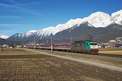 SNCB Lineas Cargo 186 233 Oberhofen im Inntal 20.2.2020