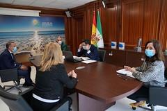 2020_05_15 - Reunión en la Mancomunidad de municipios de la Costa del Sol