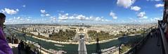 Vistas de París desde la Torre Eiffel. París (Francia).