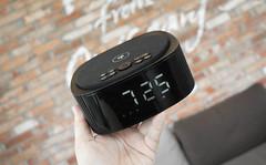 Qi Wireless Charger Bluetooth Speaker Alarm Clock