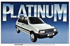 1982 Citroen Visa Super E Platinum