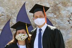 Covid-19 Graduation - Masked - 5308