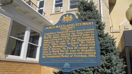 20191010 10 James Stewart home, Indiana, Pennsylvania