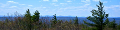 View to West, Uncanoonuc Mtns, Monadnock & Wapack Range