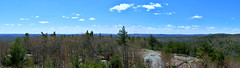 West Panorama from Pawtuckaway South Fire Tower